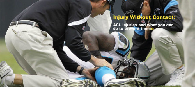 Injury Without Contact: ACL injuries and what you can do to prevent them