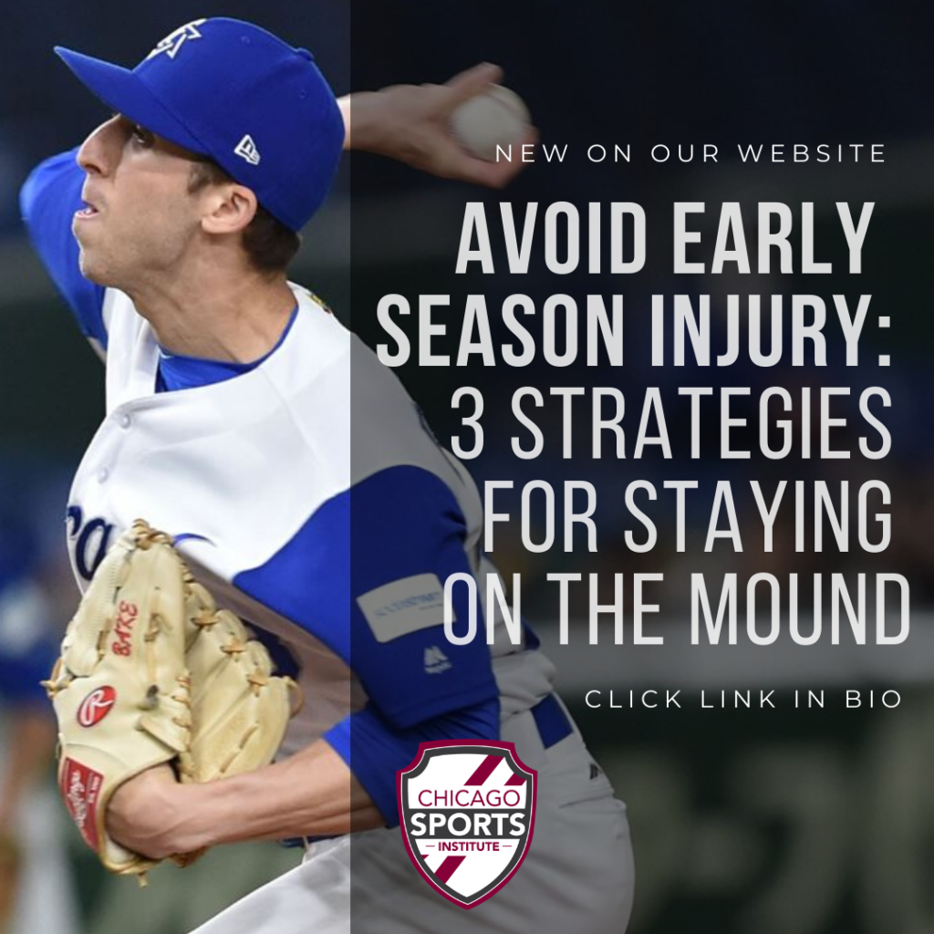 Avoid Early Season Inury - 3 Strategies for staying on the mound