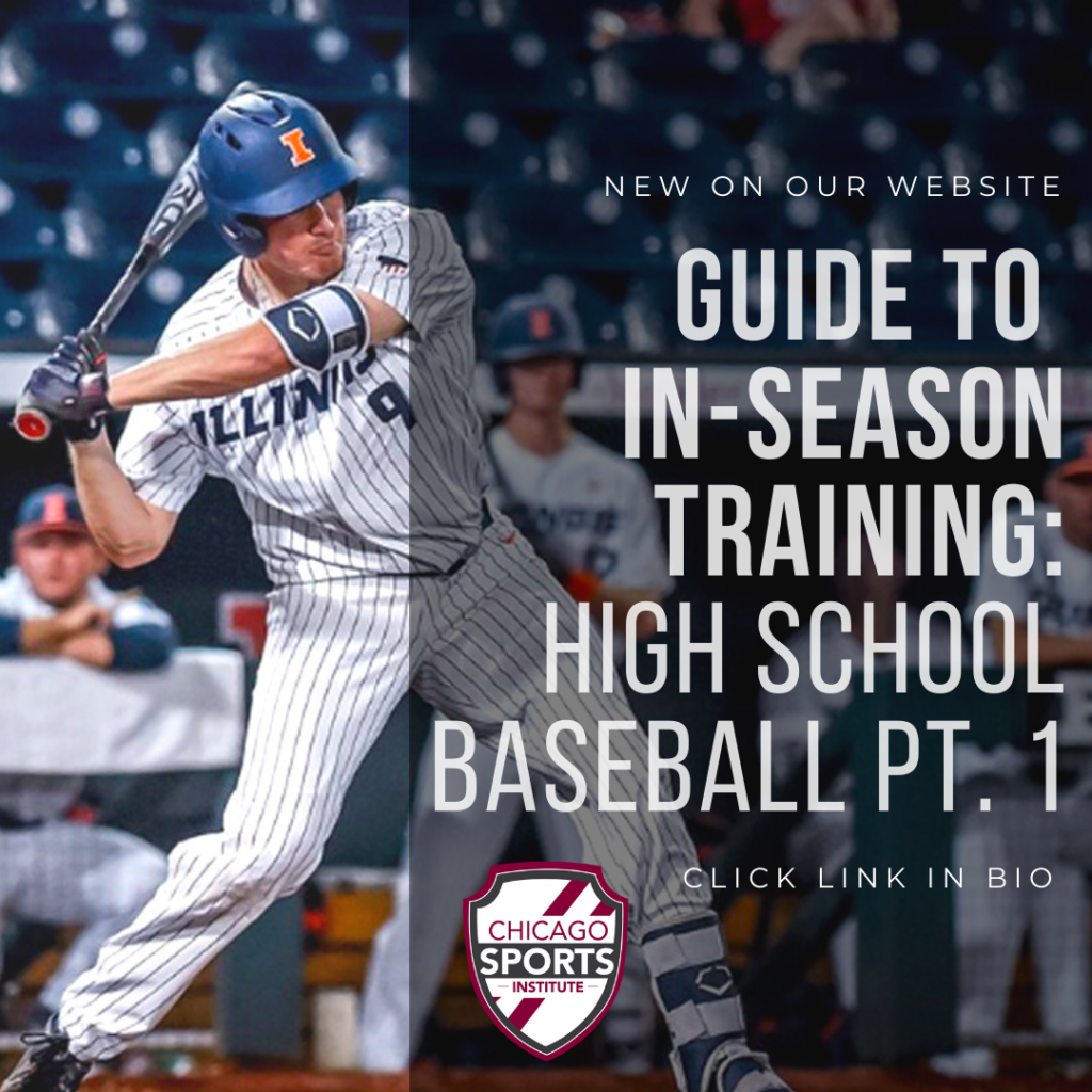 Guide to In-season Training - HS Baseball Pt1