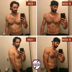 Matt Raimo Before & After 10 weeks