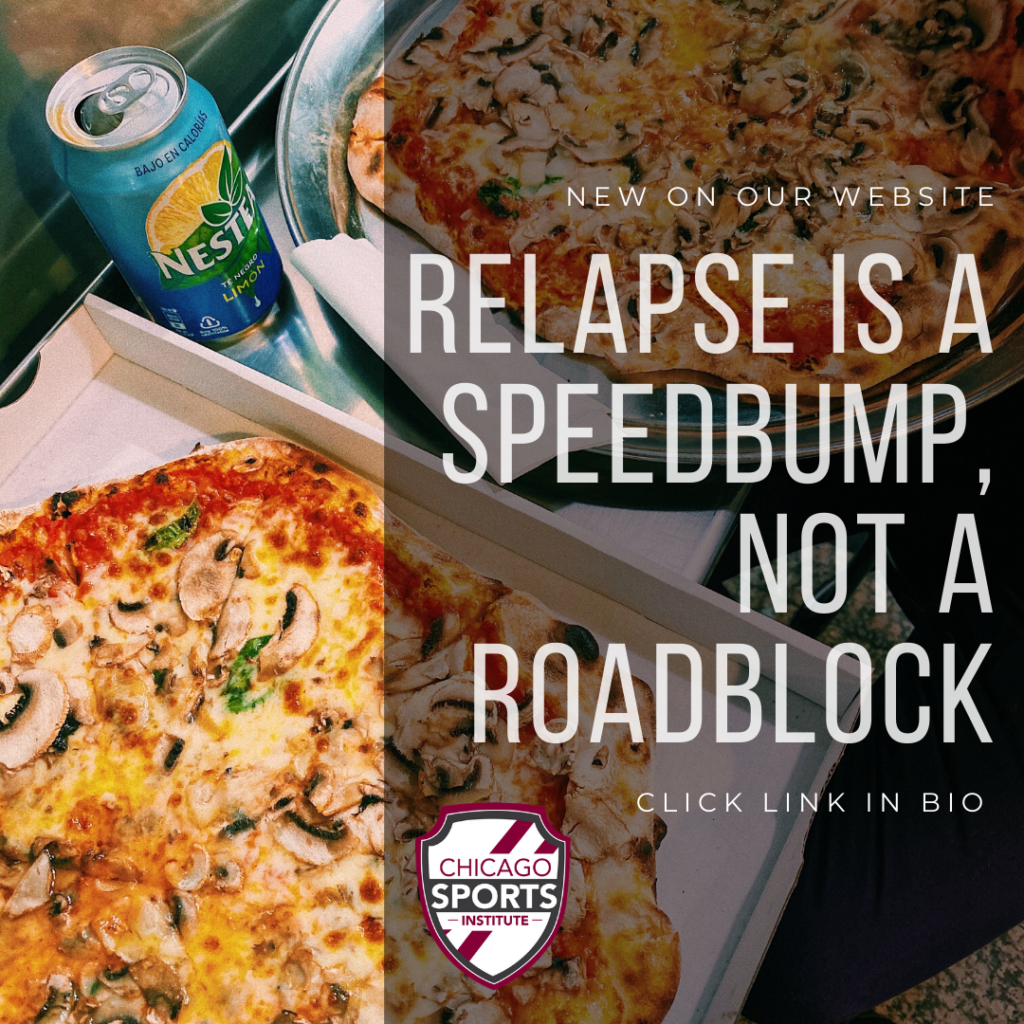 Relapse is a Speedbump - Not a Roadblock