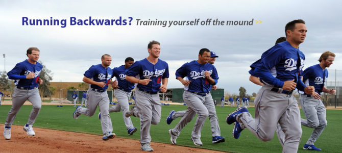 RUNNING BACKWARDS: Training Yourself Off The Mound