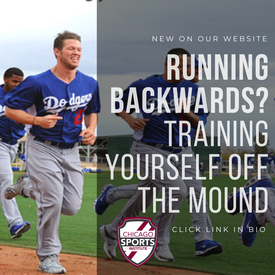 Running Backwards - Training yourself off the mound