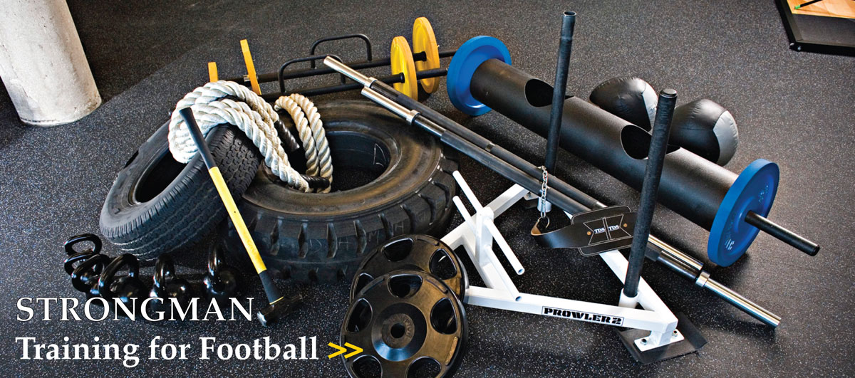 STRONGMAN Training for Football