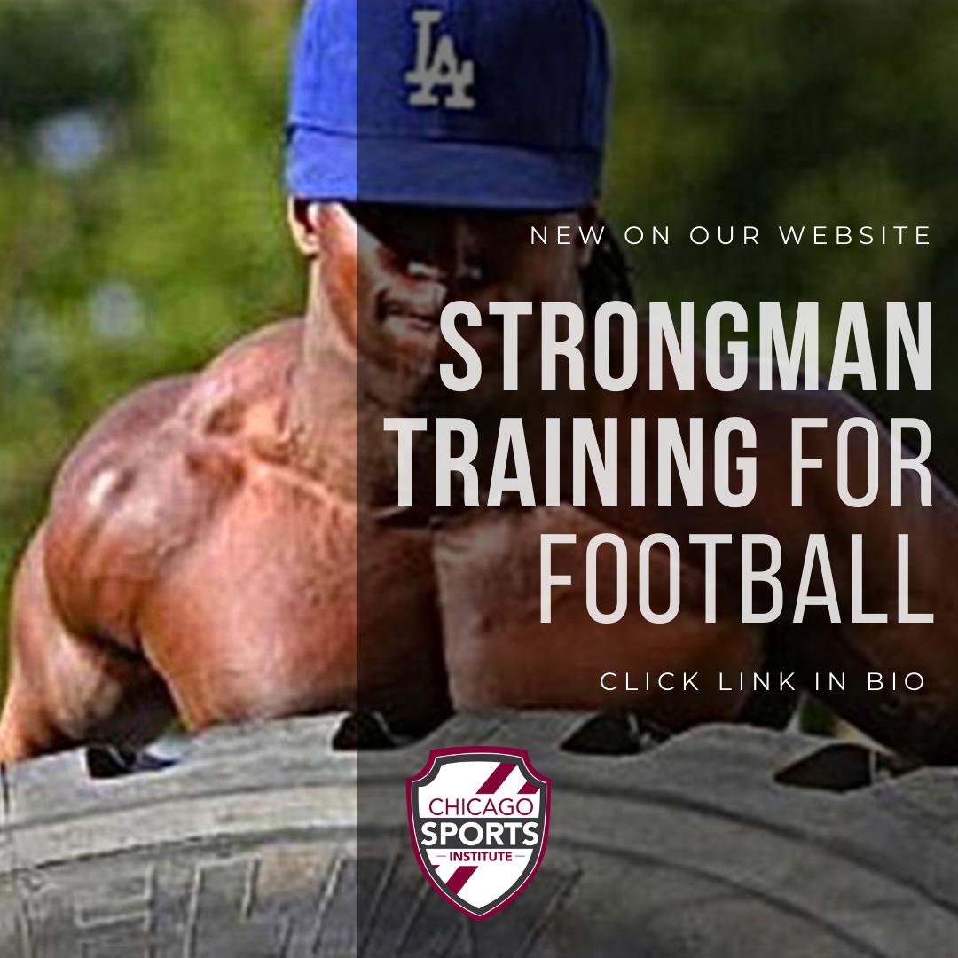 Strongman training for football