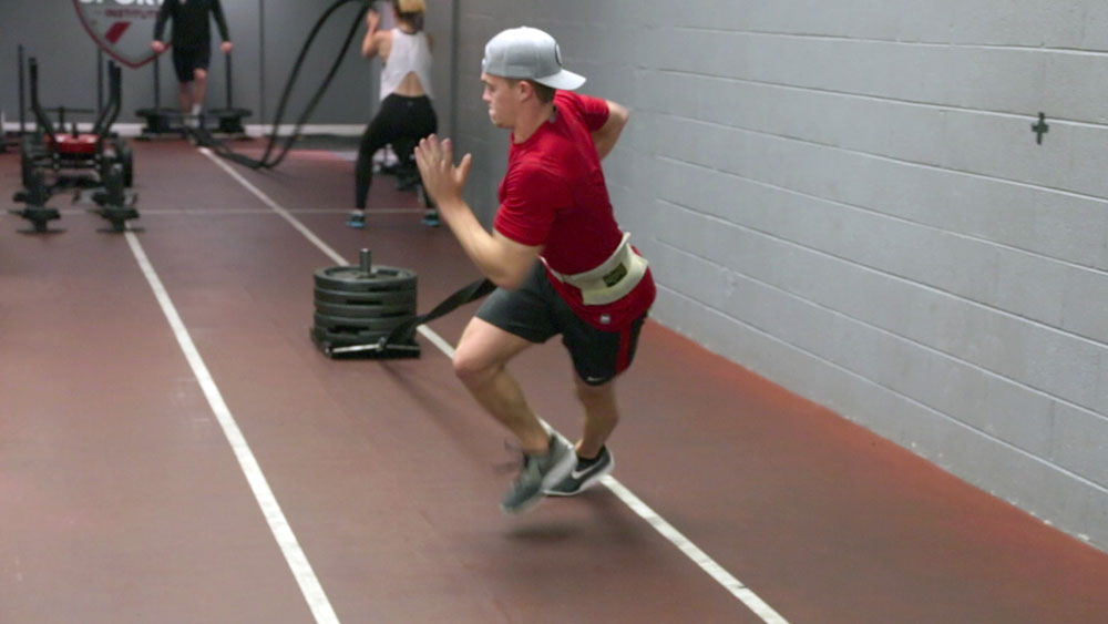 Athletic Development - Tanner - Crossover Sled
