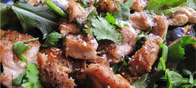 Spicy Coconut Chicken Salad